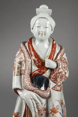 17th century - Japanese Bijin Genroku Period 1688 - 1704