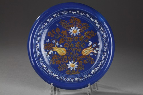 Porcelain & Faience  - Nevers faience bol - Second half of 17th century