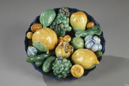 Porcelain & Faience  - Faenza faience dish. Workshop Enea Utili. 16th century