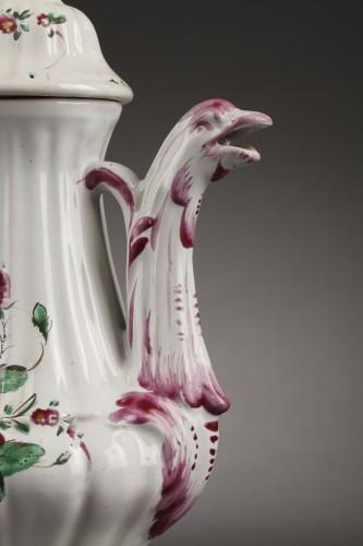 Porcelain & Faience  - Faience ewer Francesco VERDINELLI fabric  (1783 - 1803)
