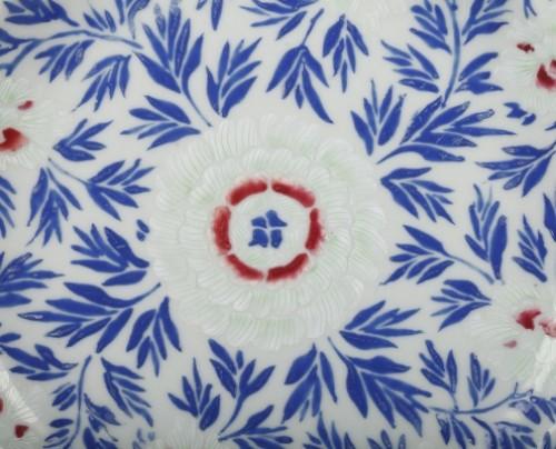 Porcelain & Faience  - Exportware pair of porcelain plates Yongzheng 1723 - 1735
