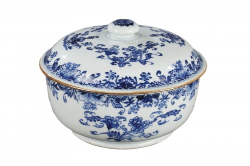 Export ware terrine, China, Qianlong 1746 - 1795