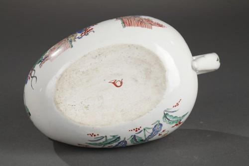 Porcelain & Faience  - Chantilly porcelain Bourdalou, Kakiemon pattern circa 1735 - 1740