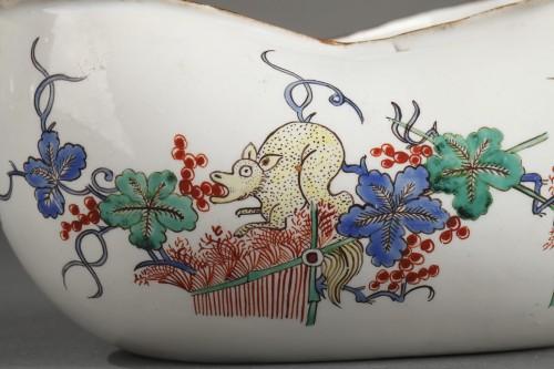 18th century - Chantilly porcelain Bourdalou, Kakiemon pattern circa 1735 - 1740