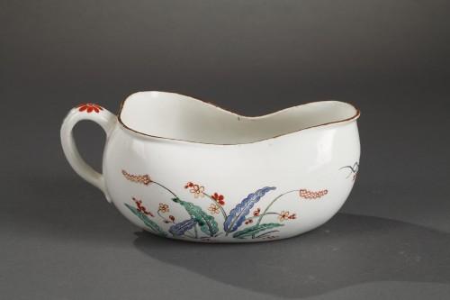 Chantilly porcelain Bourdalou, Kakiemon pattern circa 1735 - 1740 -