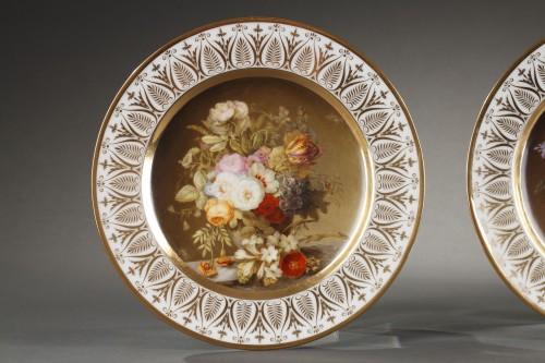 19th century - Dihl et Guerhard Paris workshop plates begining of 19 century