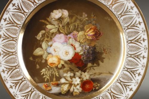 Dihl et Guerhard Paris workshop plates begining of 19 century -