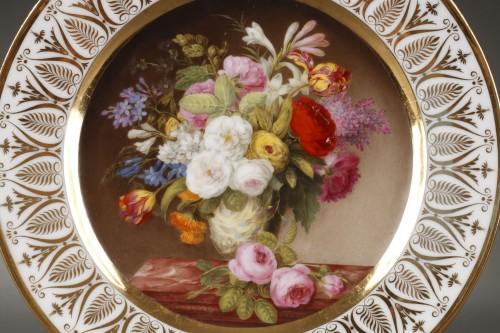 - Dihl et Guerhard Paris workshop plates begining of 19 century