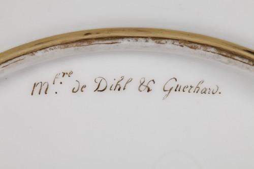 Antiquités - Dihl et Guerhard Paris workshop plates begining of 19 century