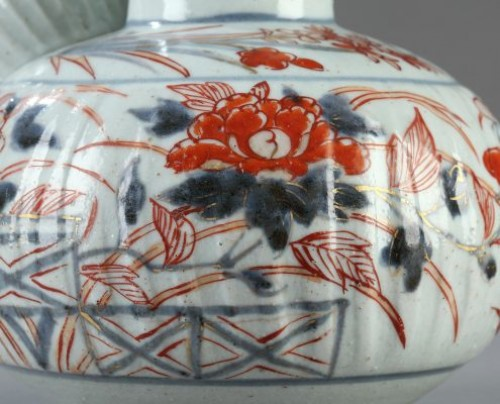 Porcelain Kendi, Japan early 18th century -