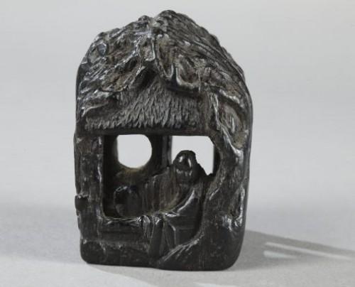 Wooden Netsuke. 19th century -