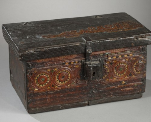 AL-ANDALUS – ESPAGNE : Very rare wooden box. 15th century. - Curiosities Style