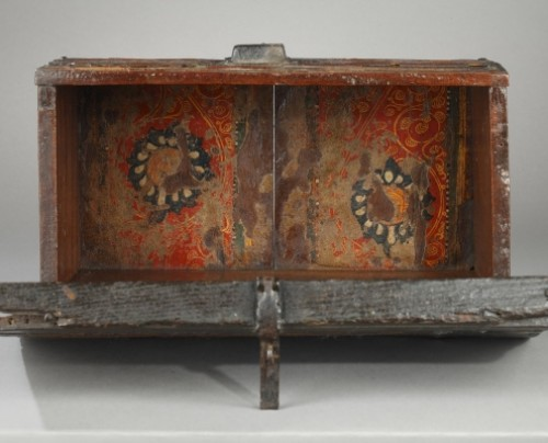 - AL-ANDALUS – ESPAGNE : Very rare wooden box. 15th century.