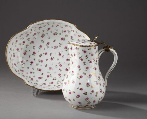 Sèvres Jug and bowl Circa 1784 - Porcelain & Faience Style
