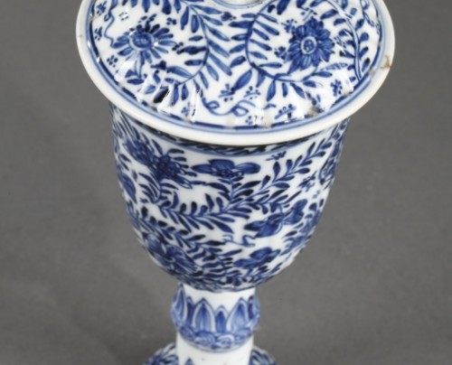 CHINA : Covered Gobelet Kangxi period 1662 - 1722 -
