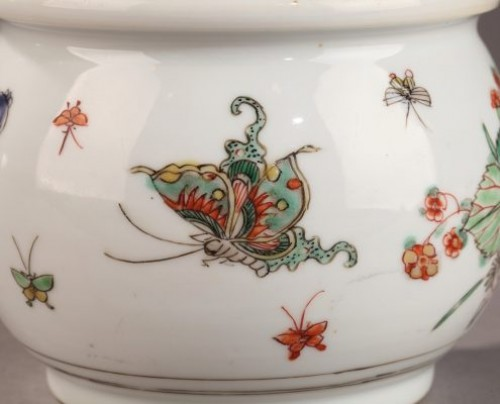 Porcelain & Faience  - CHINA EXPORT WARE : Famille verte Zhadou. 18th century