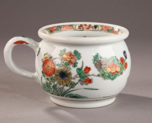 CHINA EXPORT WARE : Famille verte Zhadou. 18th century -
