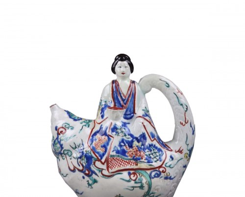 KAKIEMON JAPAN : Wine ewer End of 17th century circa 1670 - 1690