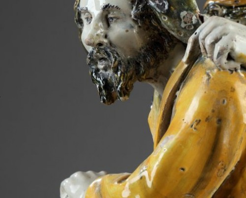 Porcelain & Faience  - Urbino : Patanazzi workshop faïence group, first third of 17th century