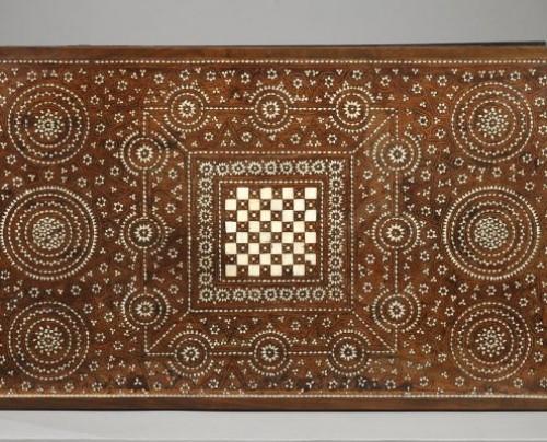 Antiquités - Spain, Granada : Wood Casket Mudejar Art circa 1500