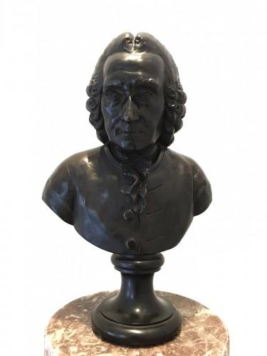 Bronze bust - J.B Budelot