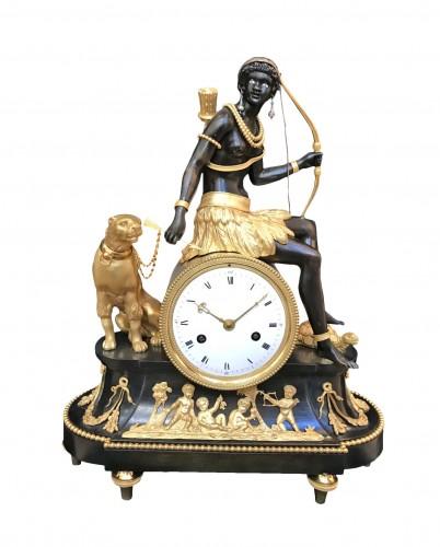 Africa clock circa 1800