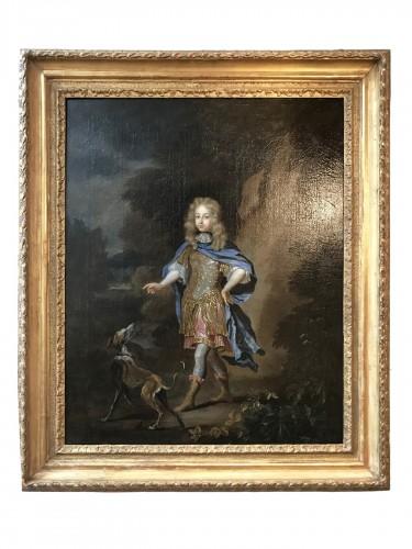 Portrait d'un gentilhomme - Ecole Hollandaise fin XVIIe siècle