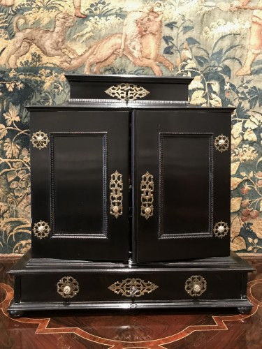 Small German cabinet of the second half of the 17th century -
