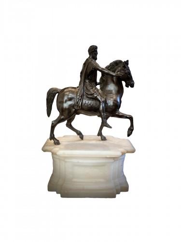 Equestrian bust, Italian work early 19th century