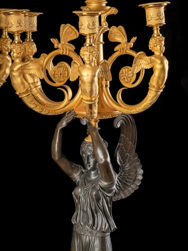 Pair of candelabra - Claude Galle (1759-1815) - Lighting Style