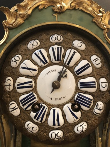 Louis XV cartel with chimeras - Horology Style