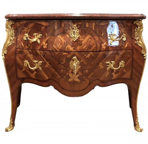 Commode Louis XV estampillée François Garnier