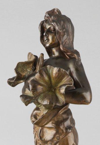 Oriental flower woman - Emmanuel VILLANIS (1858–1914) -