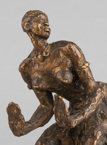 African dancer - Gaston BROQUET (1880-1947) - Sculpture Style Art Déco