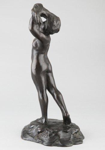 Sculpture  - Dancer - M. MAC KAIN (XXe s.)
