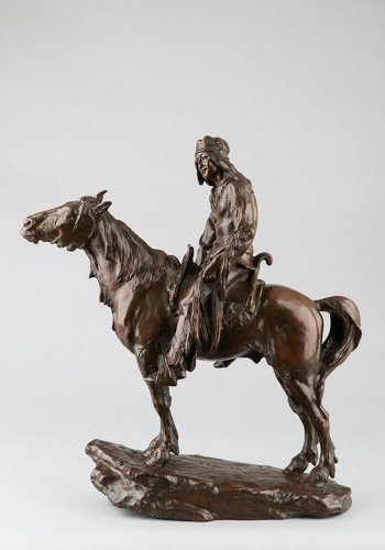 The last of his race - Antoine Bofill (1875-1925) - Sculpture Style