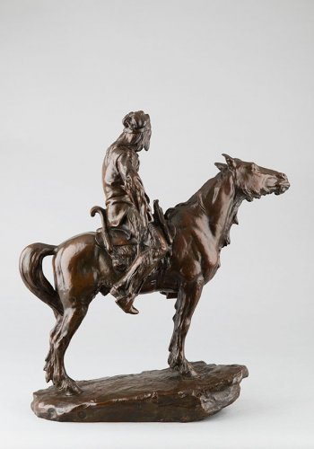 Sculpture  - The last of his race - Antoine Bofill (1875-1925)