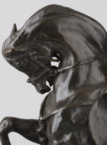 Warrior Tartar - Antoine-Louis Barye (1796-1875) - Sculpture Style