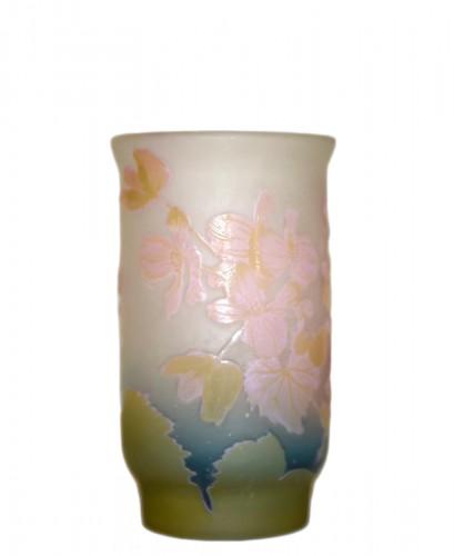 """""""Pale pink flower"""" vase - GALLÉ"""