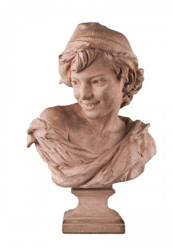 Jean-Baptiste CARPEAUX (1827–1875) - Le Rieur napolitain (the laughing Neapolitan boy)