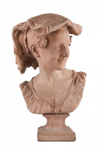 Jean-Baptiste CARPEAUX (1827–1875) - La Rieuse napolitaine (the laughing Neapolitan girl)