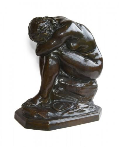 The broken Mirror - Aimé-Jules DALOU (1838-1902)