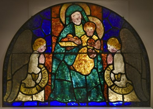 Stained-glass window - François DECORCHEMONT (1880-1971) - Art Déco