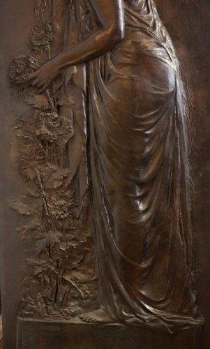 Sculpture  - Melancholia - Jean MAGROU (1869-1945)