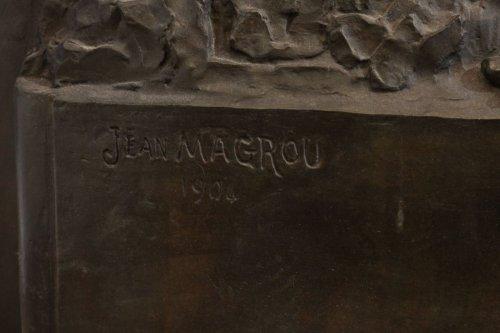 Art nouveau - Melancholia - Jean MAGROU (1869-1945)