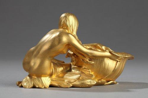 Sculpture  - Art Nouveau tidy - Maurice BOUVAL (1863-1916)
