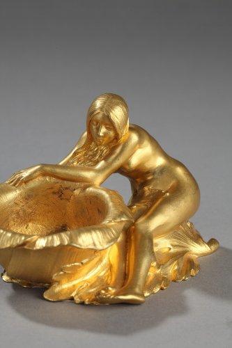 20th century - Art Nouveau tidy - Maurice BOUVAL (1863-1916)