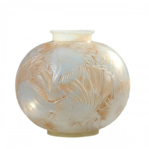 Vase Fishes -  René LALIQUE (1860-1945)