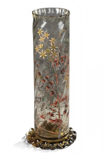 "Vase ""Cristallerie"" - GALLÉ"
