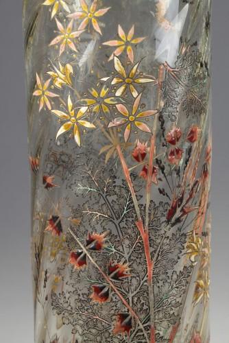 "Vase ""Cristallerie"" - GALLÉ -"